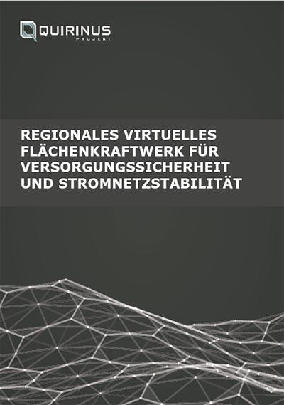 Broschüre zum Quirinus-Projekt als PDF downloaden. Energiesicherheit, Energieversorgung, Flächenkraftwerk.